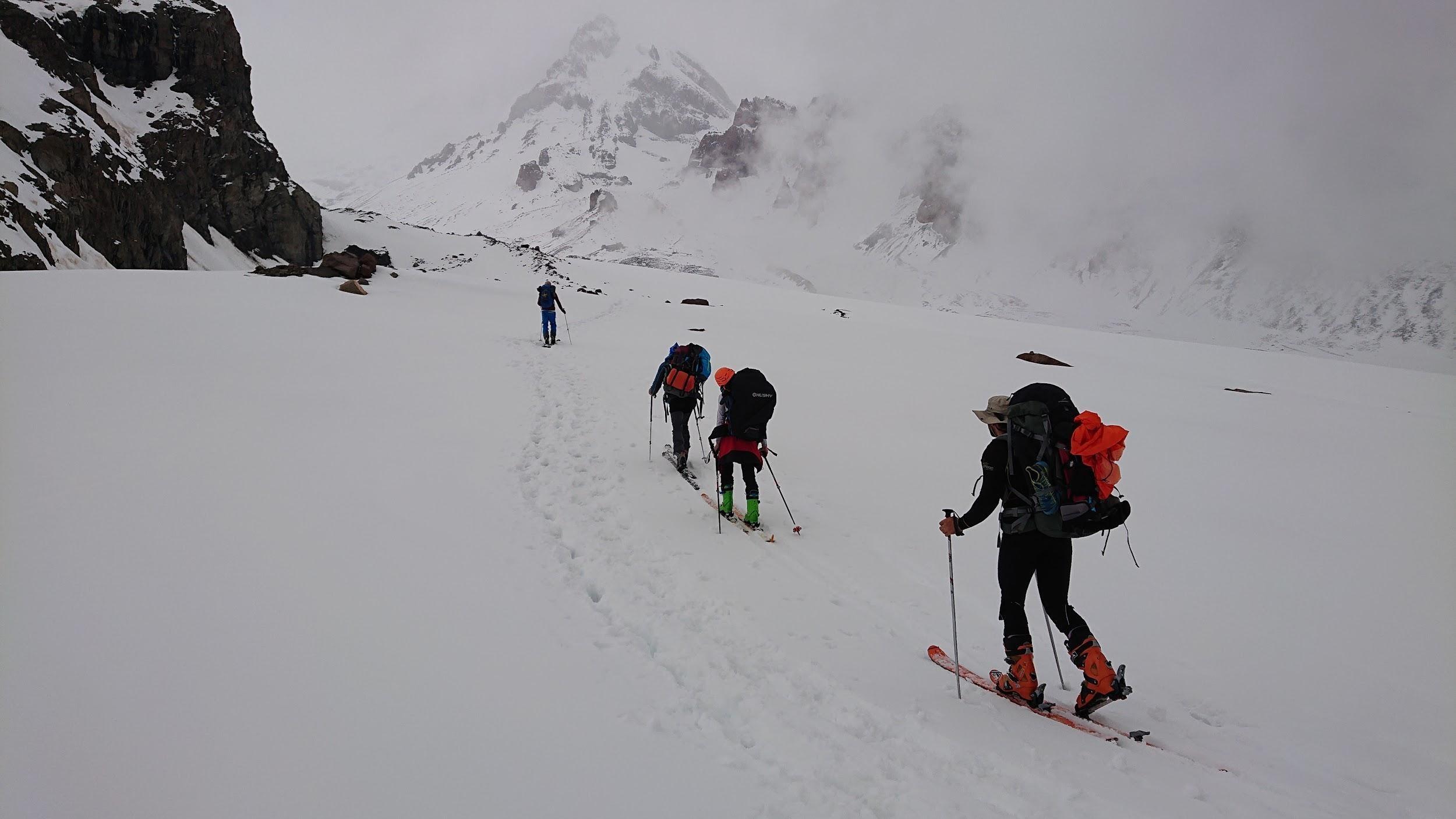 Kaukaz na skialpoch