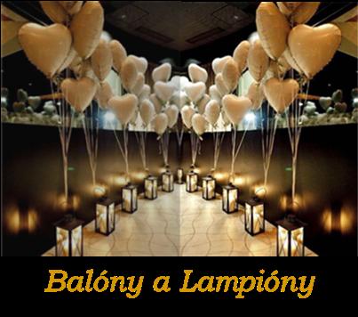 Balóny, Svadobná balónová dekorácia, Svadobné lampióny šťastia, Héliové balóny