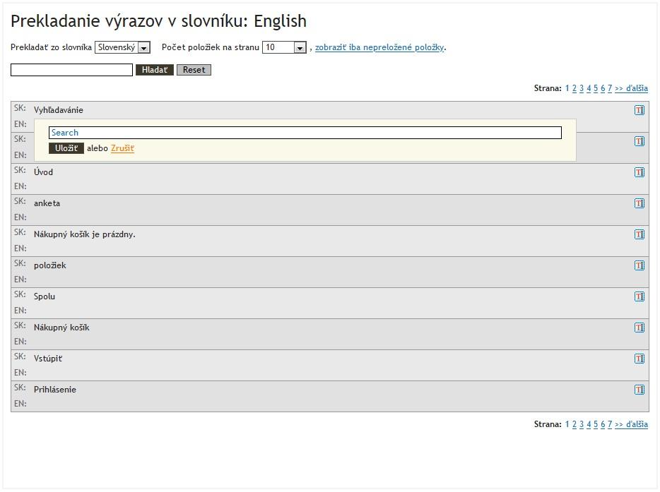 Preklad výrazov v Atomeri