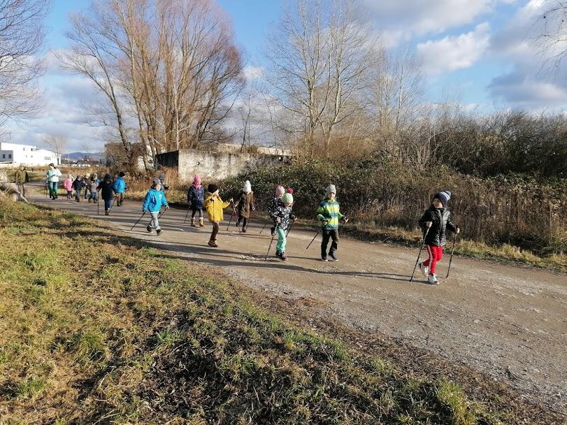Nordic Walking Junior pre školy