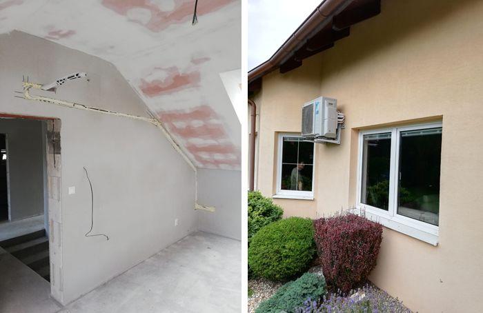 Montáž priprava klimatizácie