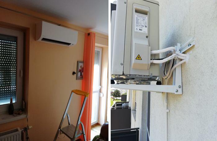 Montaž priprava klimatizácie
