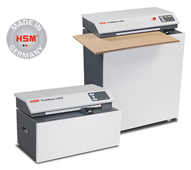 HSM ProfiPack skartovač kartonů