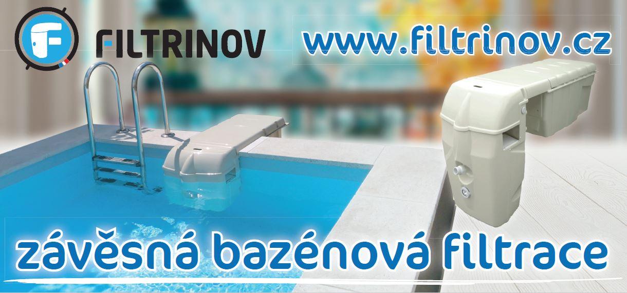 filtrace závěsná filtrinov
