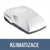 Montáž střešní klimatizace na obytné vozy, karavany, vestavby