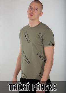 pánske tričká ALPHA INDUSTRIES