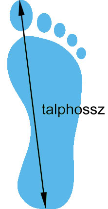 Talphossz
